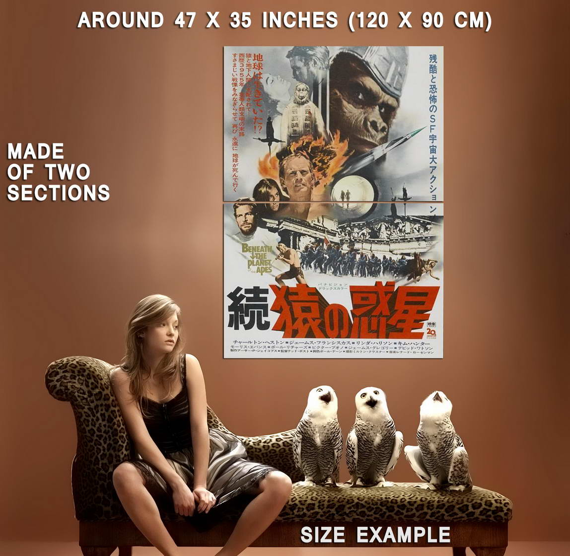 65838-Beneath-the-Planet-of-the-Apes-Movie-Wall-Print-Poster-Affiche