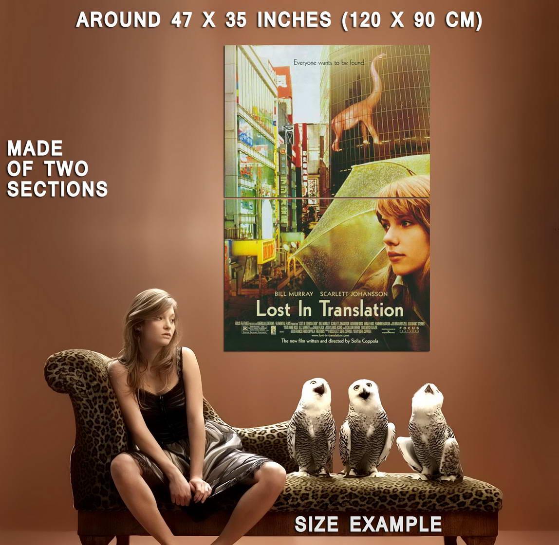 67266 Lost in Translation Scarlett Johansson Bill Wall Print Poster Affiche