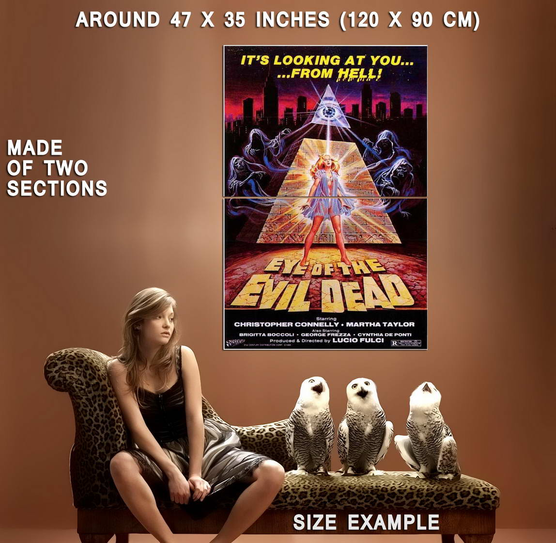 68139-Eye-Of-The-Evil-Dead-Movie-Christopher-Connelly-Wall-Print-Poster-Affiche