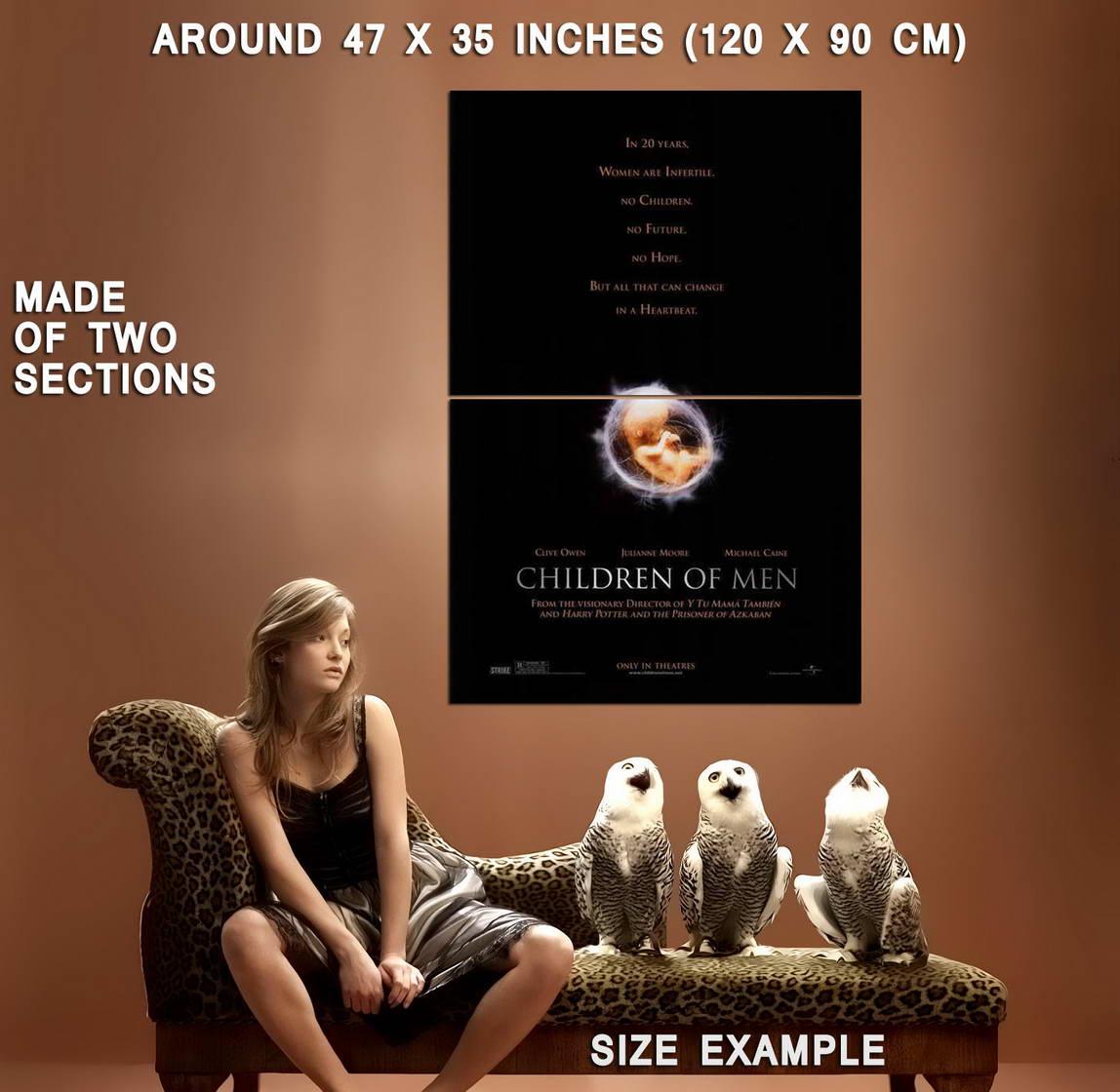 70155-Children-of-Men-Movie-Clive-Owen-Julianne-Moore-Wall-Print-Poster-Affiche