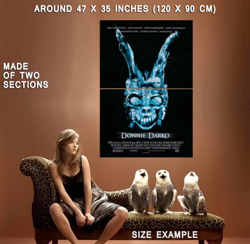 72232-DONNIE-DARKO-Movie-Frank-the-Bunny-Art-Wall-Print-Poster-Affiche