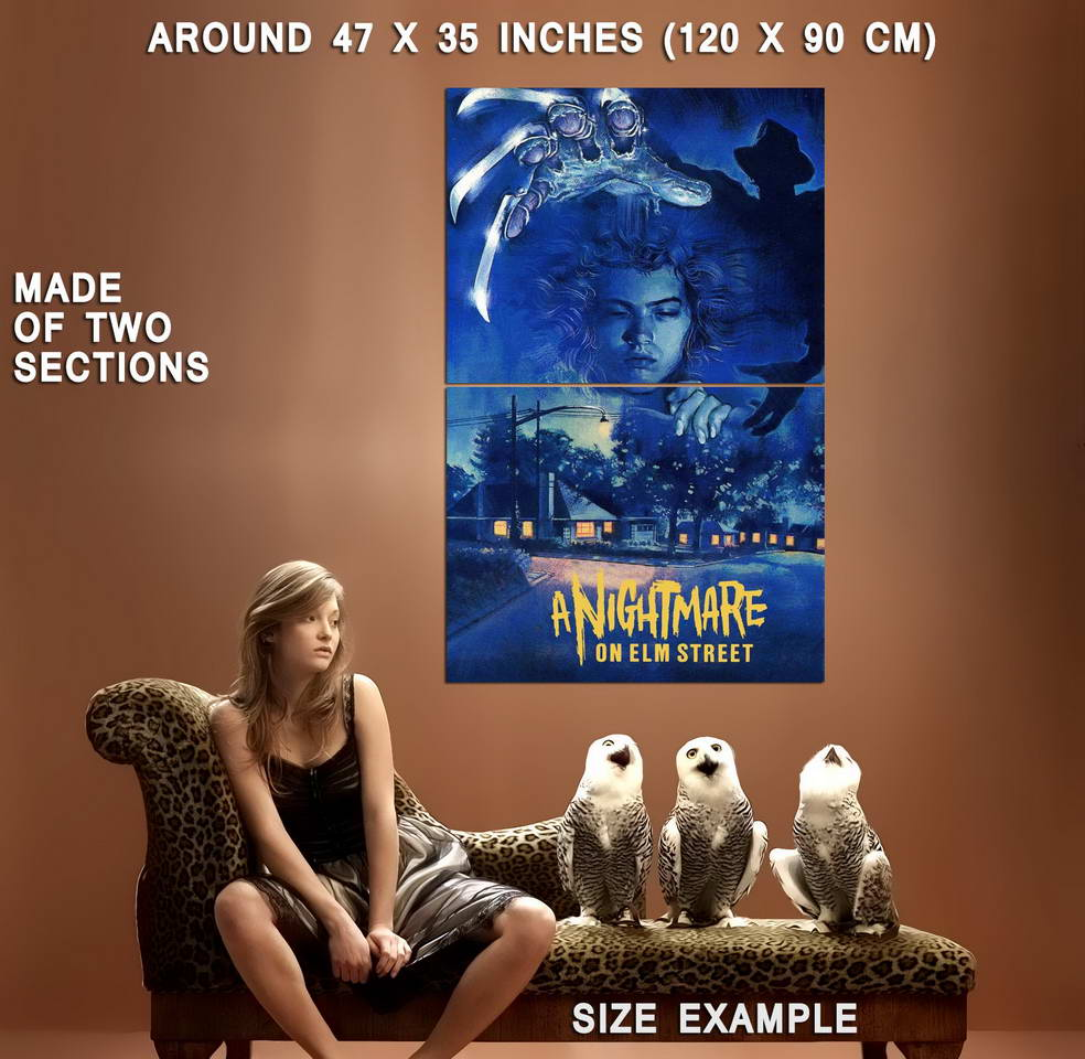 72280-A-NIGHTMARE-ON-ELM-STREET-Movie-Freddy-Krueger-Wall-Print-Poster-Affiche