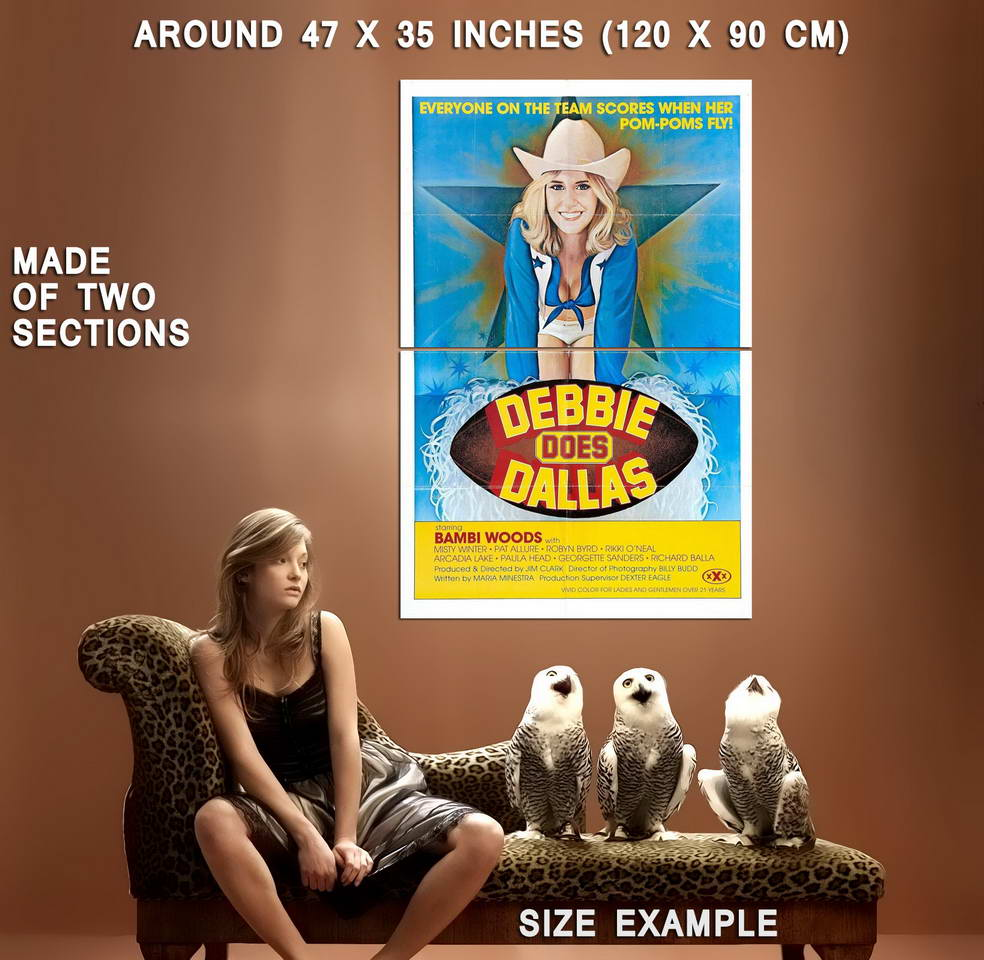 72357-DEBBIE-DOES-DALLAS-Movie-XXX-Sex-Erotica-Wall-Print-Poster-Affiche