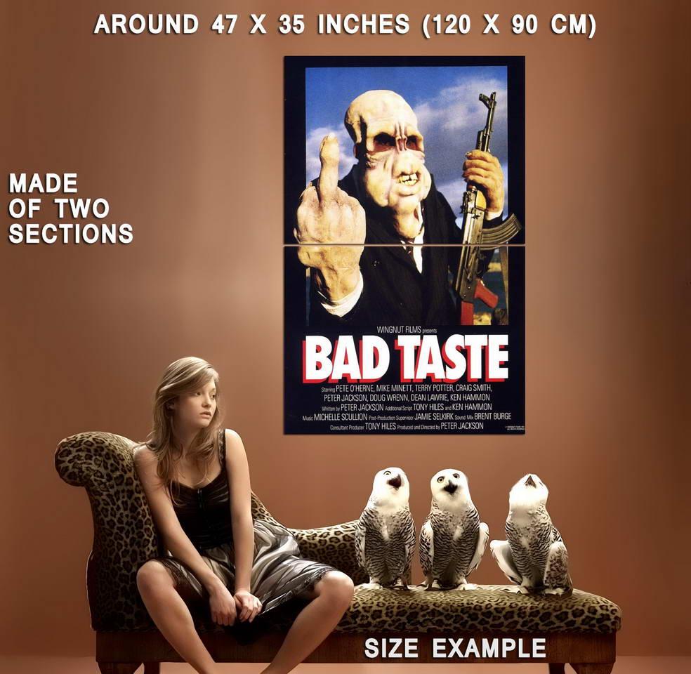 72364-BAD-TASTE-MOVIE-Horror-Gore-Wall-Print-Poster-Affiche