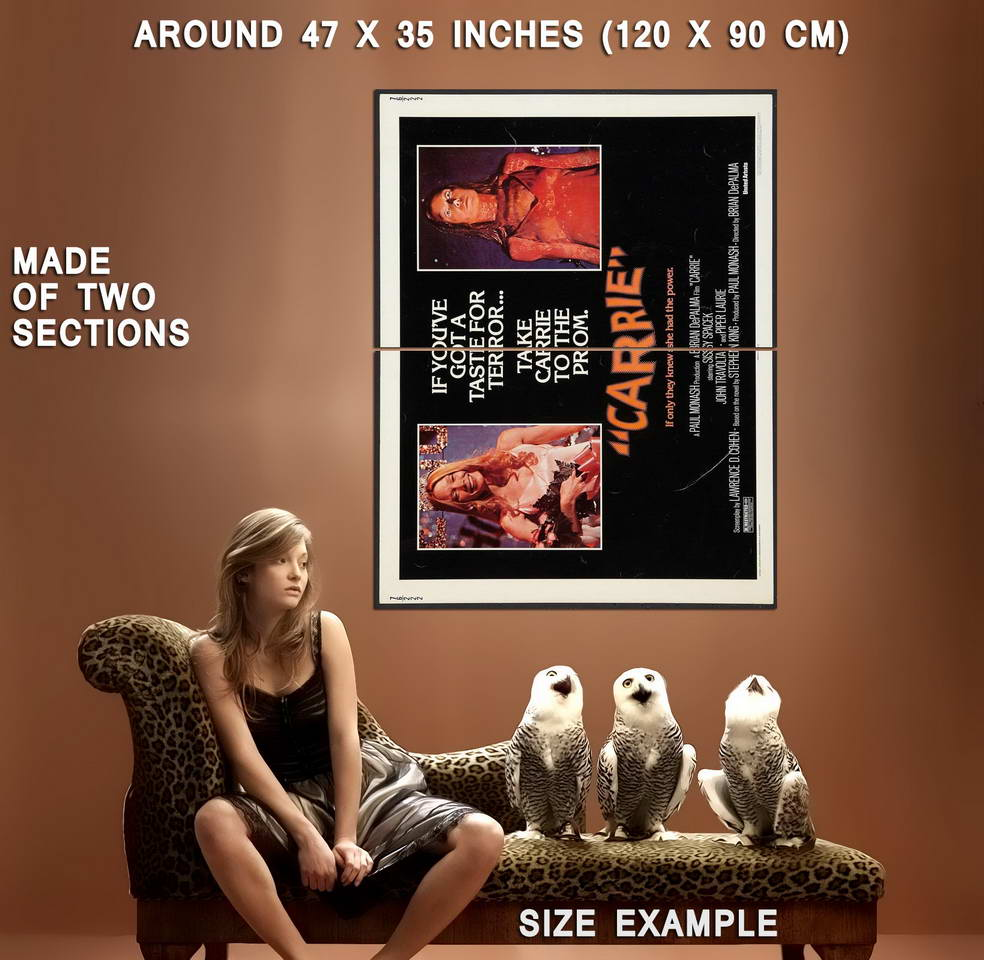 72469-CARRIE-Movie-1976-RARE-Horror-Wall-Print-Poster-Affiche