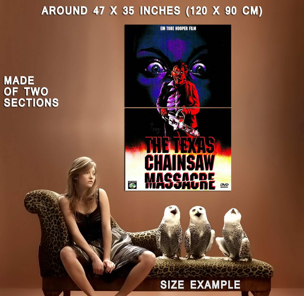 72480-THE-TEXAS-CHAINSAW-MASSACRE-Movie-Leatherface-Wall-Print-Poster-Affiche