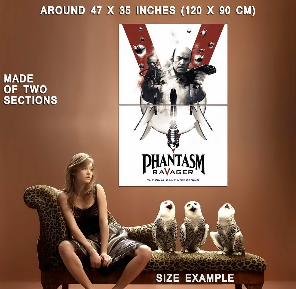72552-PHANTASM-V-5-RAVAGER-Movie-The-Tall-Man-Horror-Wall-Print-Poster-Affiche