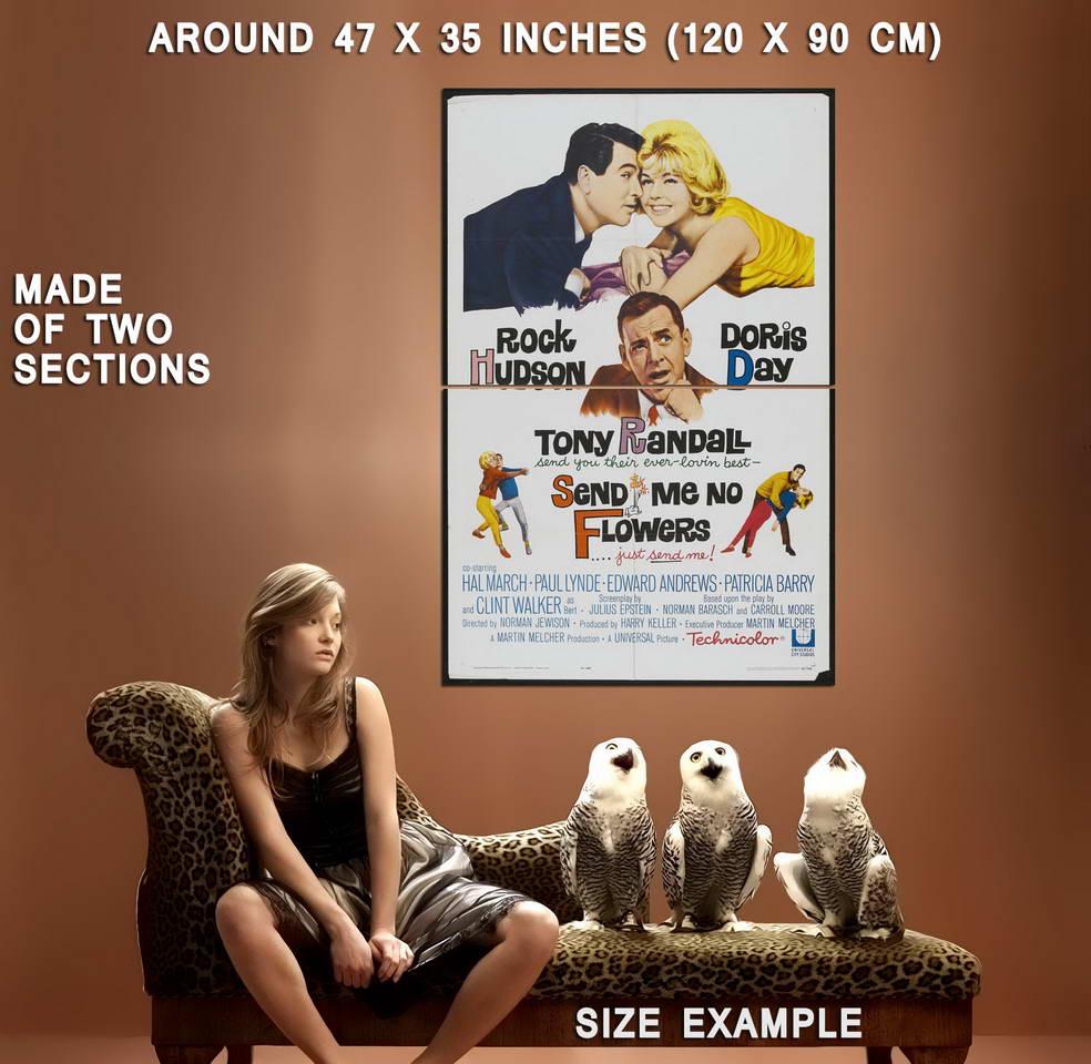 72610-SEND-ME-NO-FLOWERS-Movie-Doris-Day-Rock-Hudson-Wall-Print-Poster-Affiche