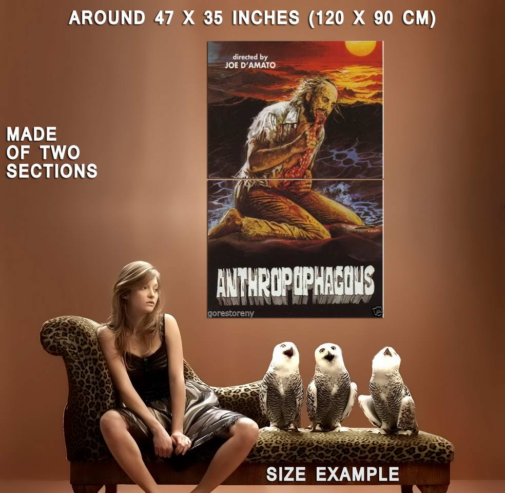 72802-ANTHROPOPHAGUS-aka-Grim-Reaper-Movie-Gore-Wall-Print-Poster-Affiche