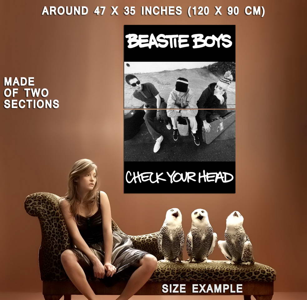 72806-The-Beastie-Boys-Check-Your-Head-Music-1992-Wall-Print-Poster-Affiche
