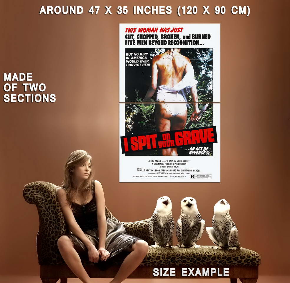 72918-I-SPIT-ON-YOUR-GRAVE-Rape-Revenge-Exploitation-Wall-Print-Poster-Affiche