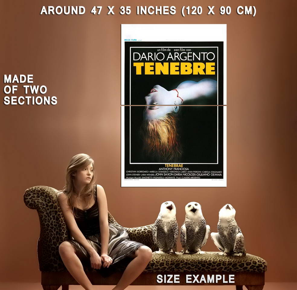 72922-TENEBRE-movie-1982-Dario-Argento-Wall-Print-Poster-Affiche