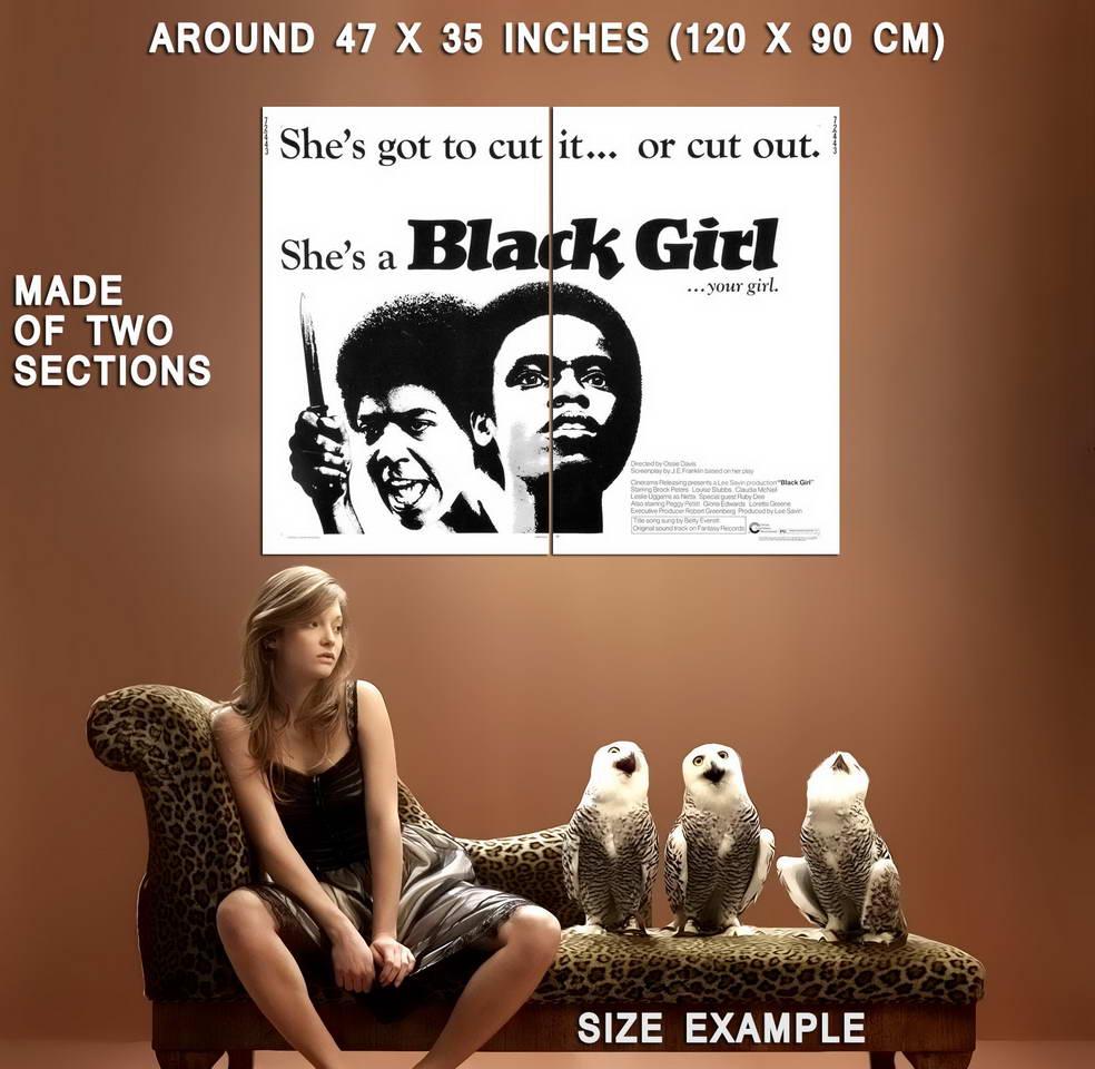 73024-BLACK-GIRL-Blaxploitation-Exploitation-Wall-Print-Poster-Affiche