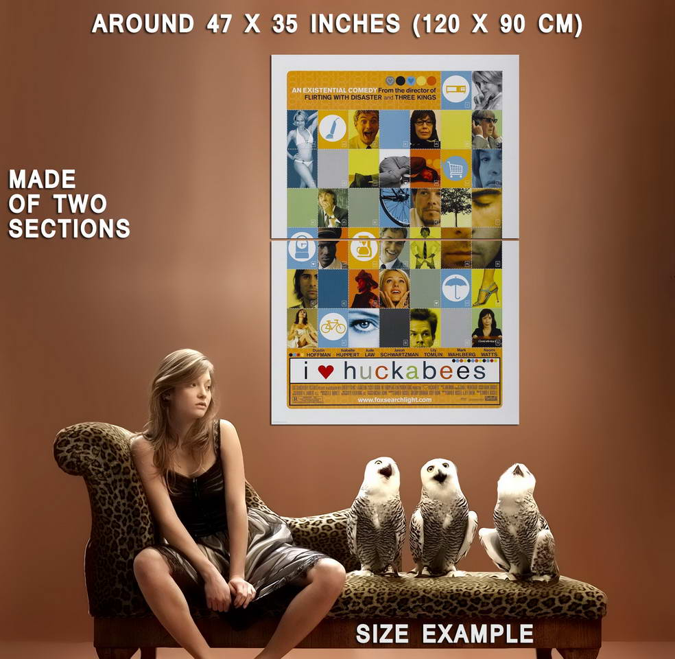 73294-I-HEART-HUCKABEES-Movie-Wall-Print-Poster-Affiche