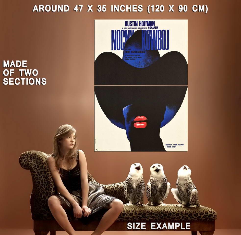 73353-MIDNIGHT-COWBOY-Dustin-Hoffman-European-Version-Wall-Print-Poster-Affiche