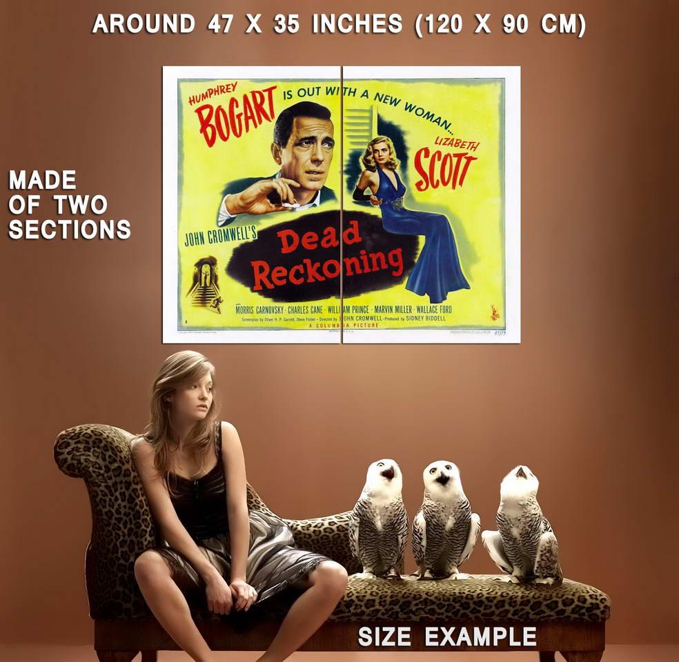 73615-Dead-Reckoning-Movie-1947-Thriller-Drama-Wall-Print-Poster-Affiche