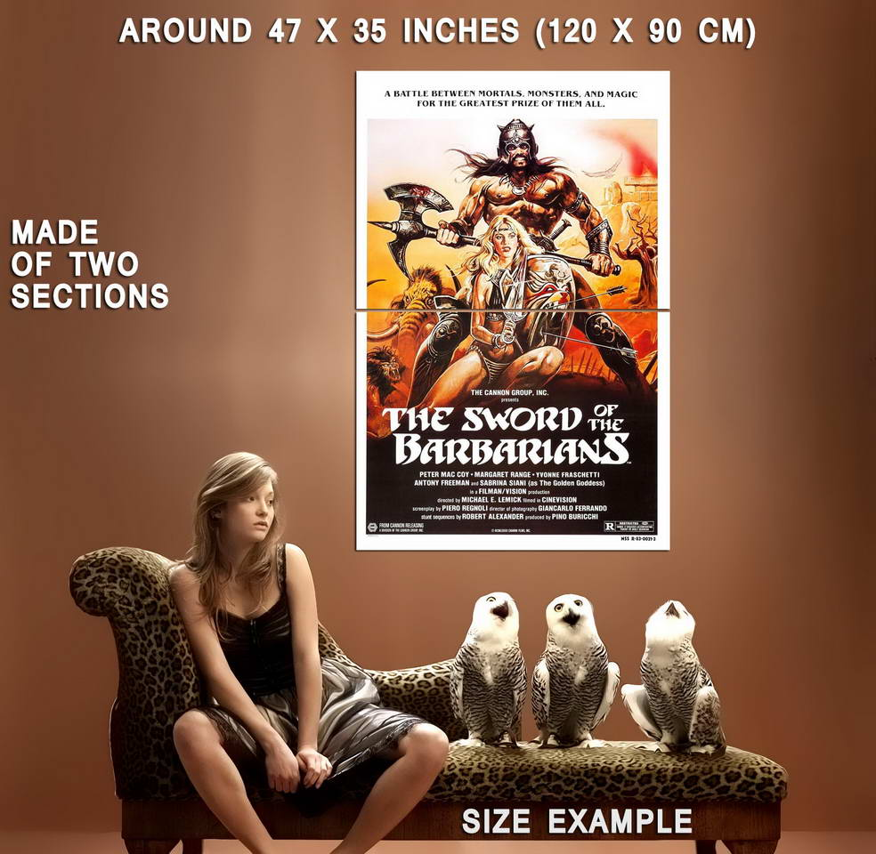 73631-The-Sword-of-the-Barbarians-Action-Adventure-Wall-Print-Poster-Affiche