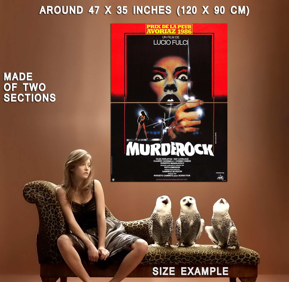 73712-MURDER-ROCK-Movie-Horror-RARE-Wall-Print-Poster-Affiche