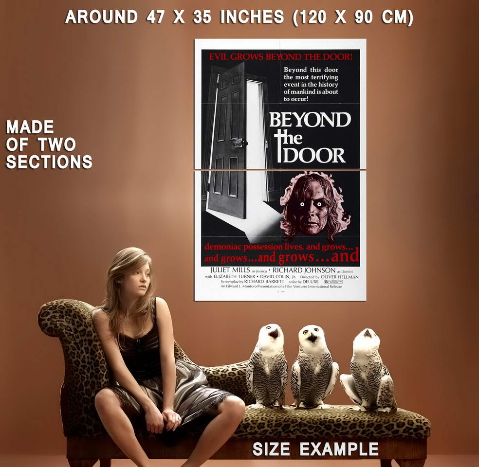 73736-BEYOND-THE-DOOR-Movie-1974-Horror-Sci-Fi-Wall-Print-Poster-Affiche