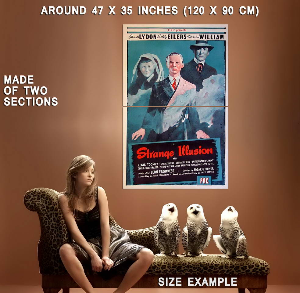 73936-Strange-Illusion-Movie-1945-Thriller-Wall-Print-Poster-Affiche