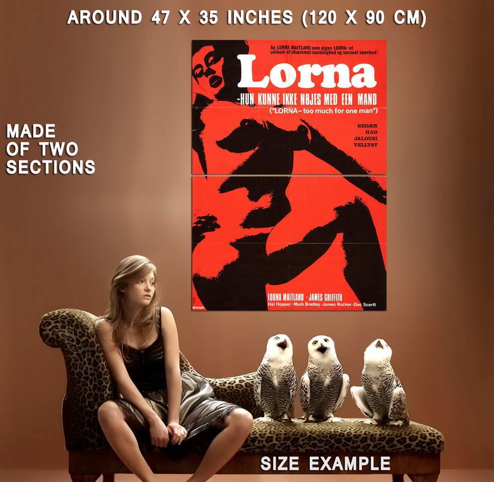 74192-LORNA-Movie-Russ-Meyer-Exploitation-Wall-Print-Poster-Affiche