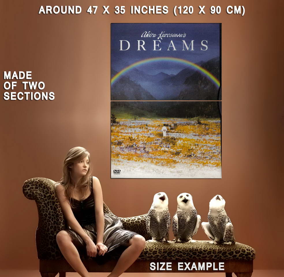 74244-DREAMS-Movie-Rare-Kurosawa-Samurai-Japanese-Wall-Print-Poster-Affiche