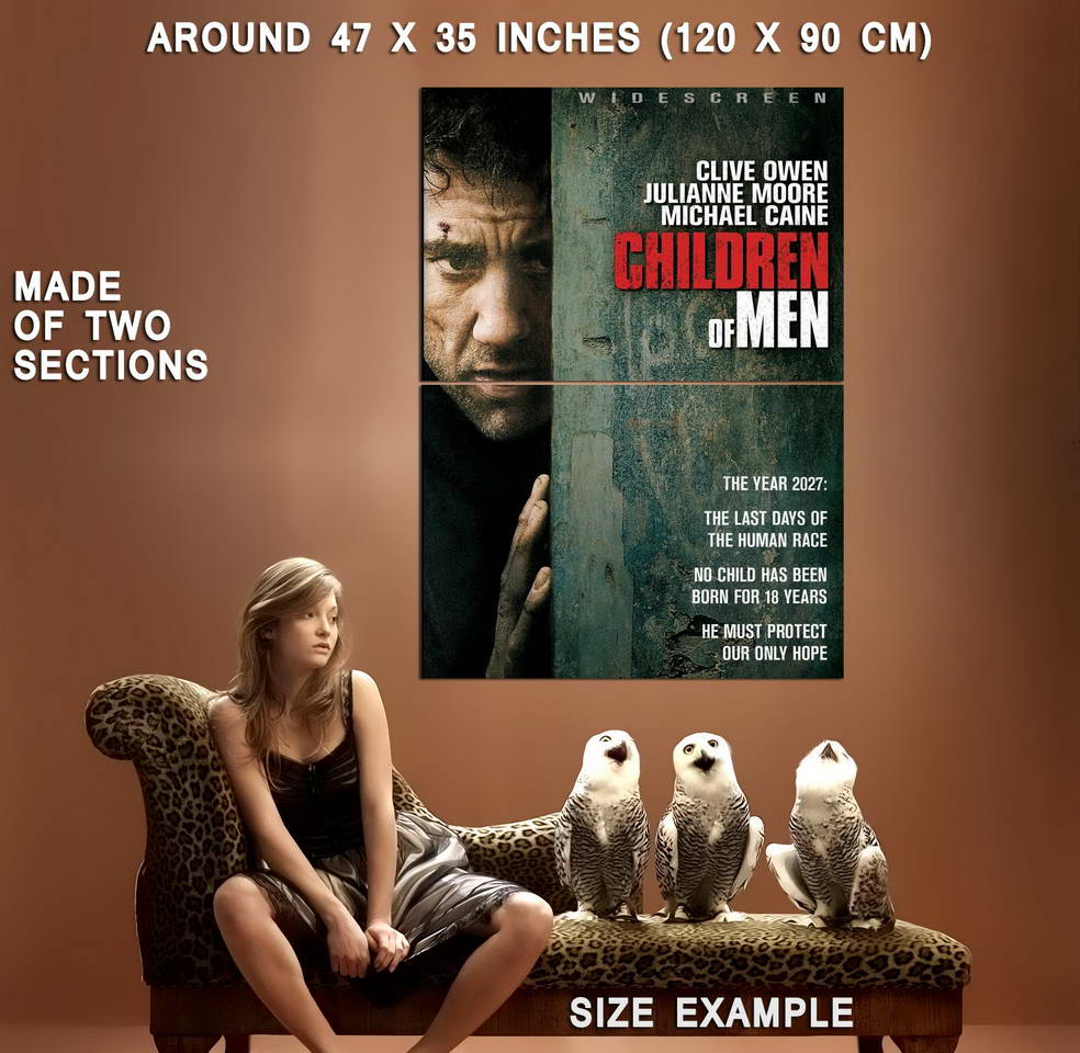 74245-CHILDREN-OF-MEN-2006-Clive-Owen-Julianne-Moore-Wall-Print-Poster-Affiche