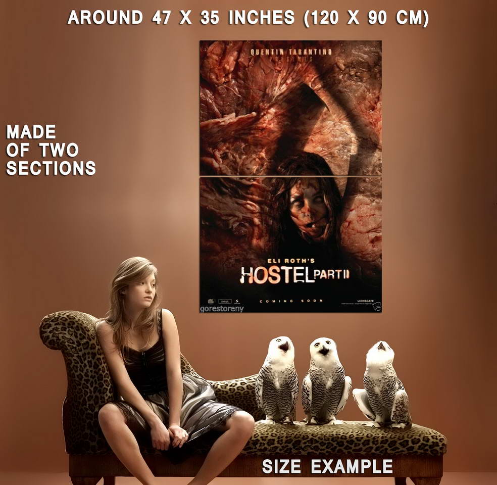 74278-HOSTEL-Part-II-2-Movie-Horror-Torture-Porn-Eli-Wall-Print-Poster-Affiche
