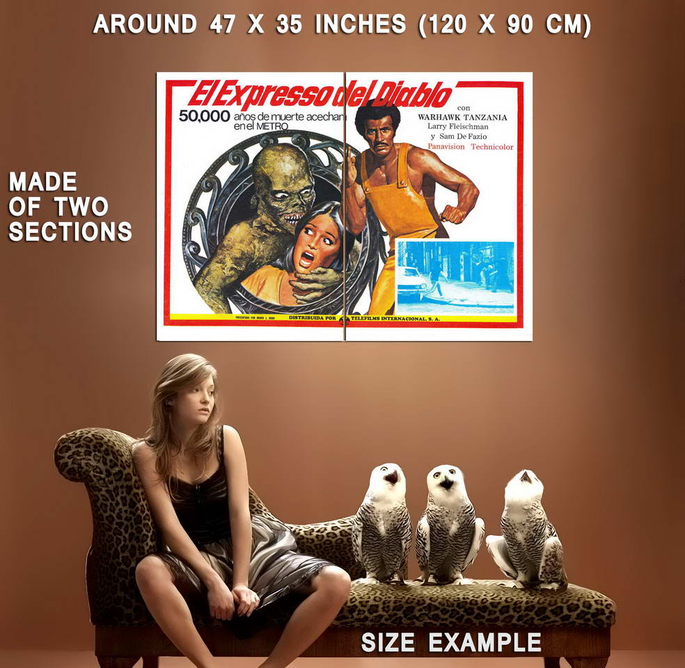 74352-DEVILS-EXPRESS-Movie-Kung-Fu-Wall-Print-Poster-Affiche