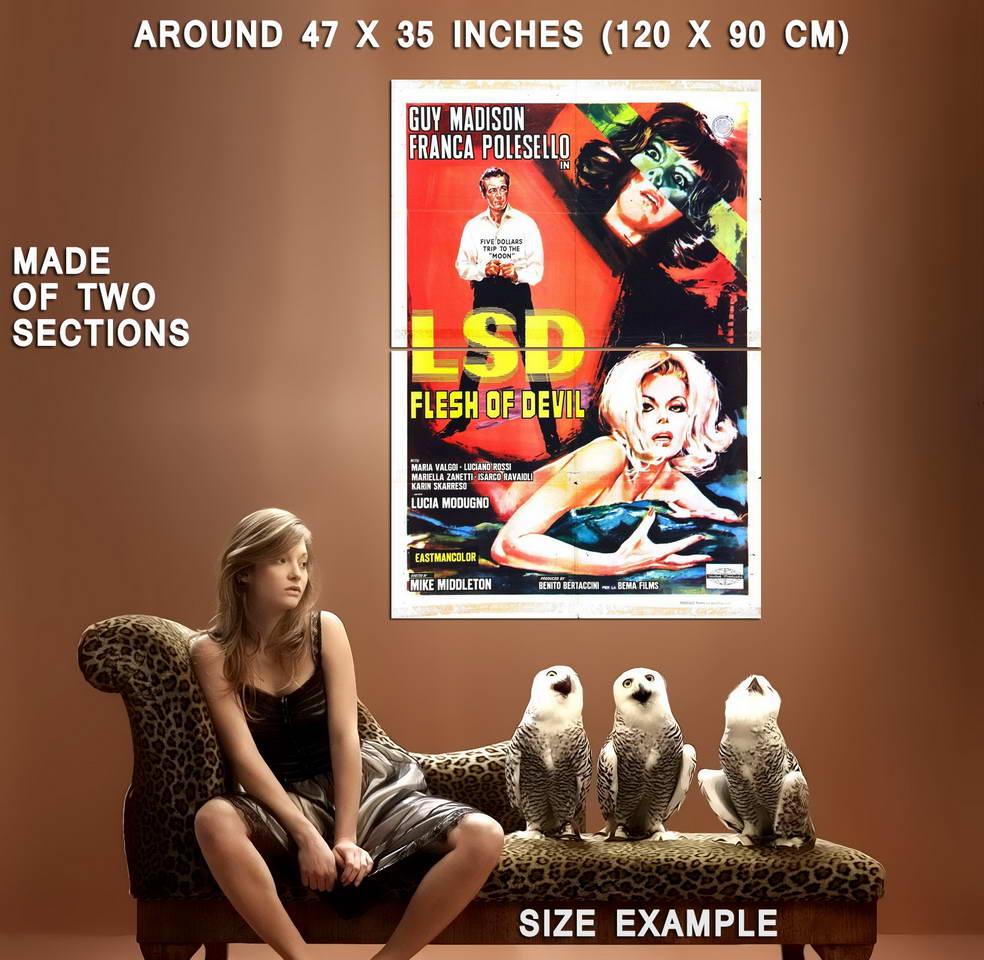 74367-LSD-FLESH-OF-DEVIL-Movie-RARE-Sex-Drugs-XXX-420-Wall-Print-Poster-Affiche