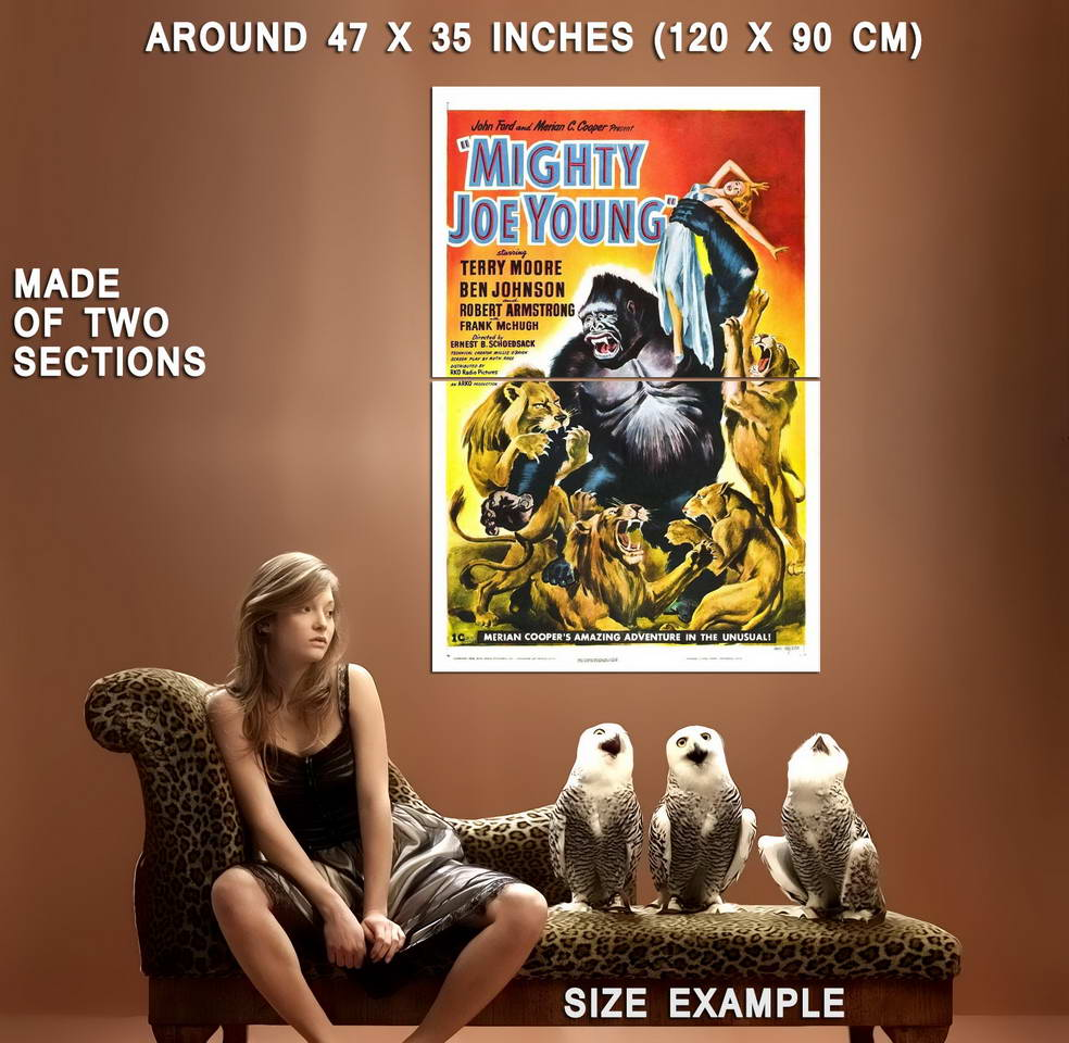 74376-MIGHTY-JOE-YOUNG-Movie-RARE-King-Kong-Wall-Print-Poster-Affiche