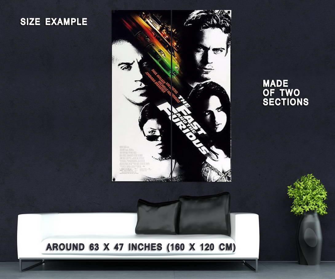 61932 Fast and the Furious Wall Print Poster Affiche