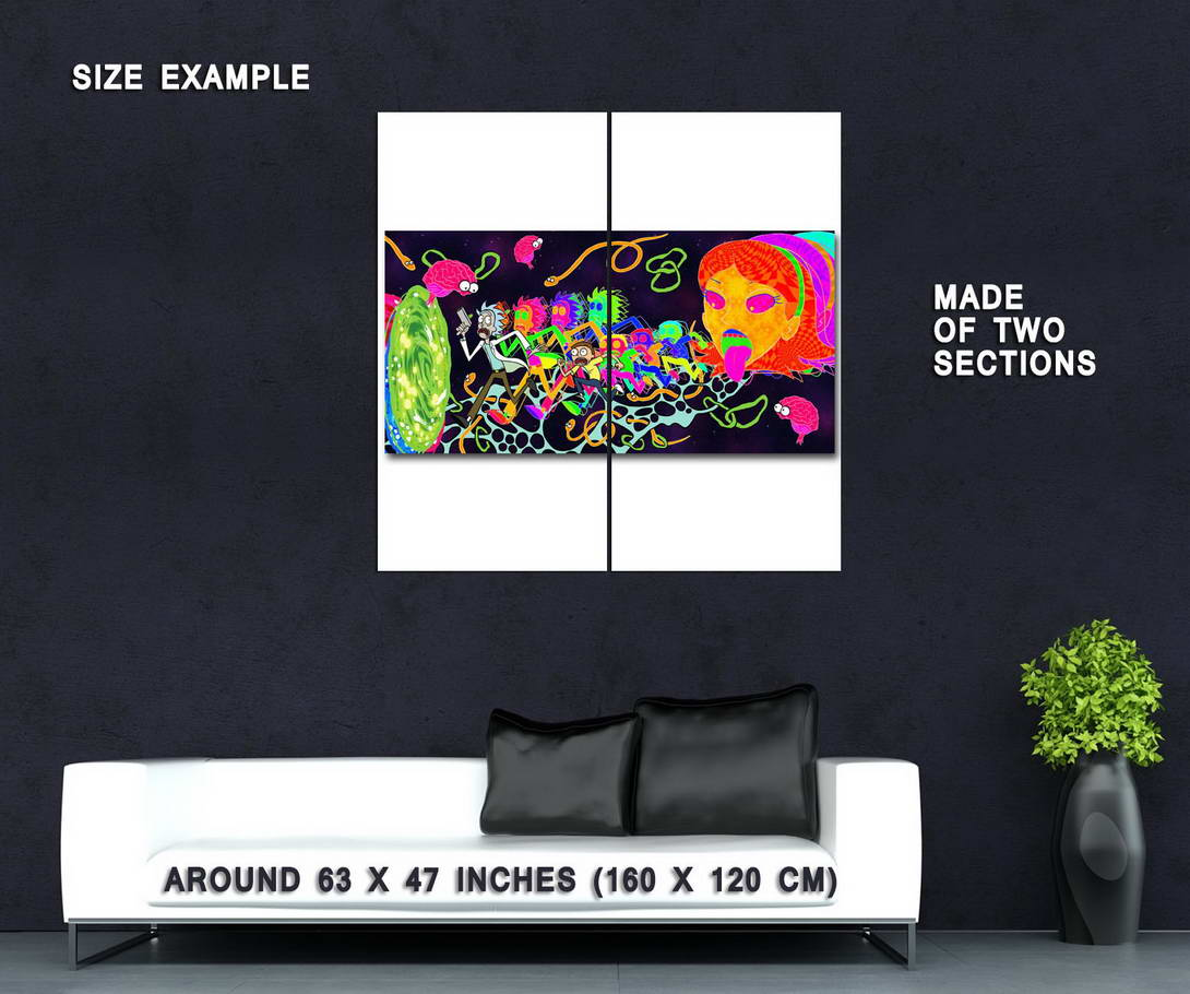 62221-Rick-and-Morty-Cartoon-Anime-Wall-Print-Poster-Affiche