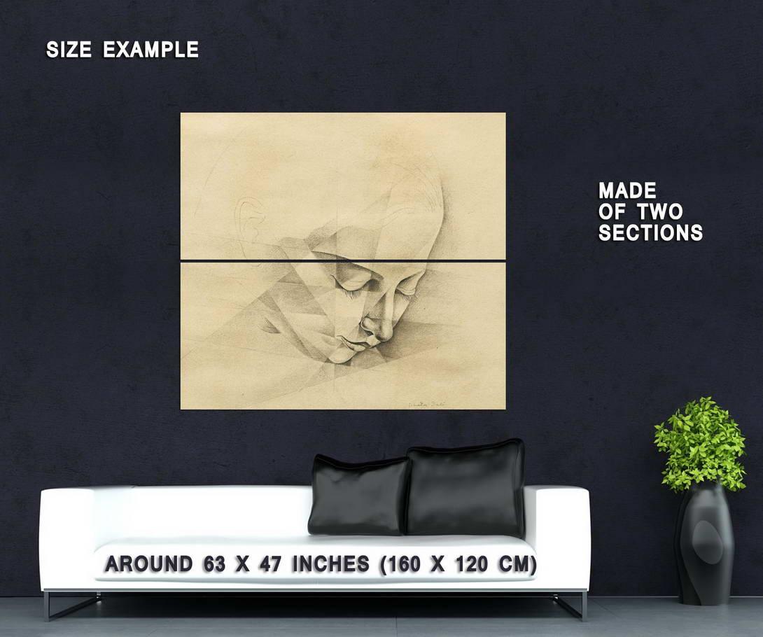 64785 Salvador Dali Portrait D\'Ana Maria Dali Giclee Decor Wall ...