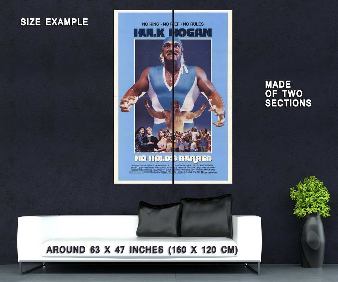 65409-No-Holds-Barred-Movie-Hulk-Hogan-Wall-Print-Poster-Affiche