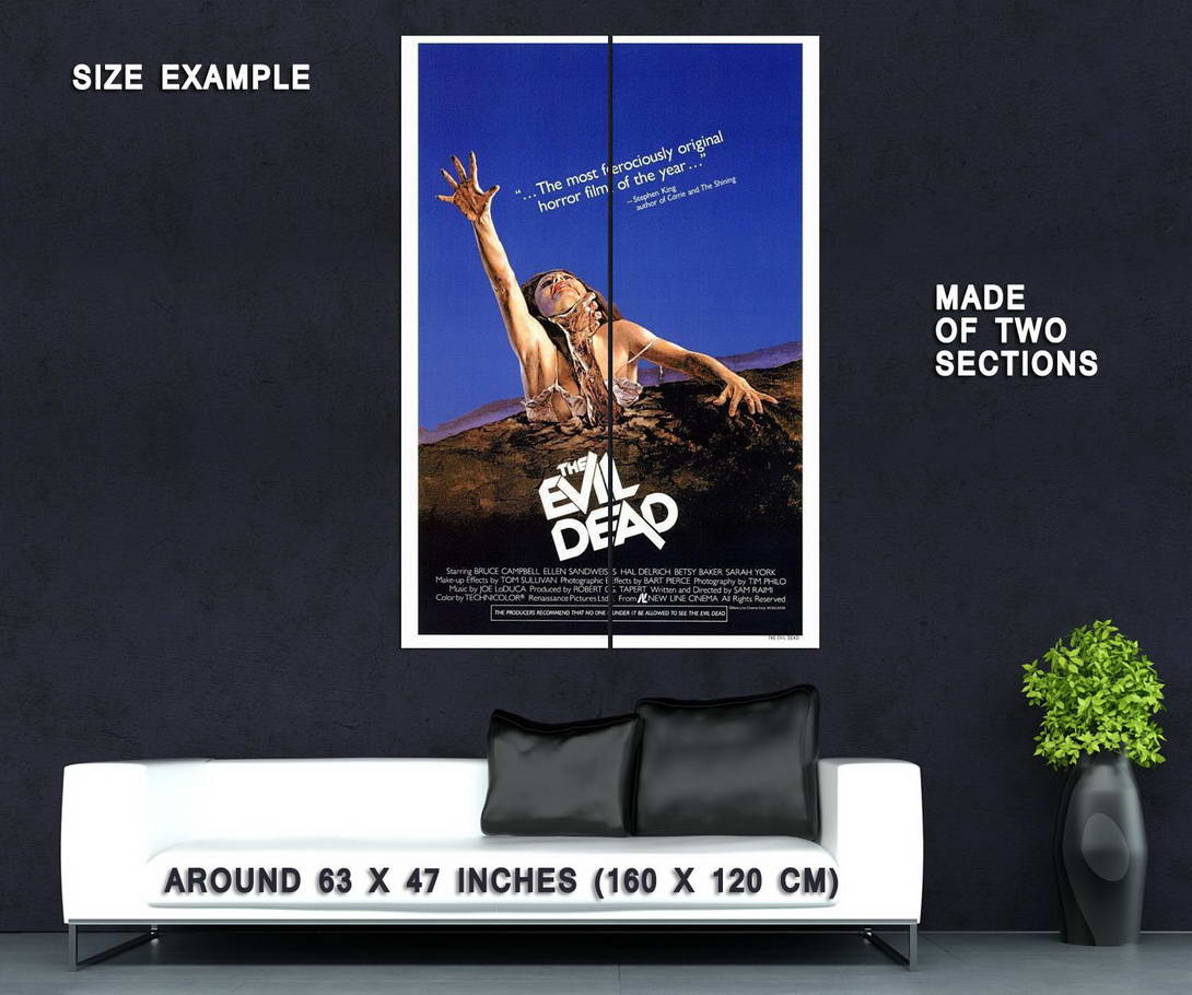 66153-The-Evil-Dead-Movie-Bruce-Campbell-Wall-Print-Poster-Affiche
