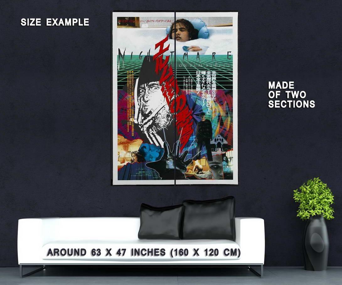 66443-A-Nightmare-on-Elm-Street-Movie-John-Saxon-Wall-Print-Poster-Affiche