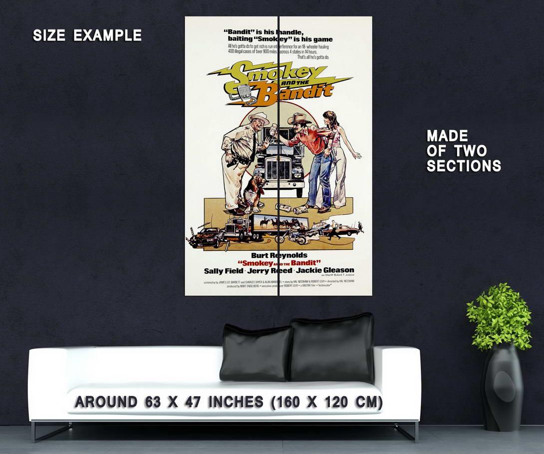 72249-SMOKEY-AND-THE-BANDIT-Movie-Burt-Reynolds-70-039-s-Wall-Print-Poster-Affiche