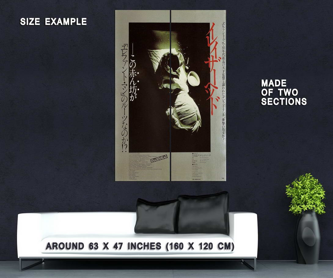72302-ERASERHEAD-Movie-Surreal-David-Lynch-Art-House-Wall-Print-Poster-Affiche