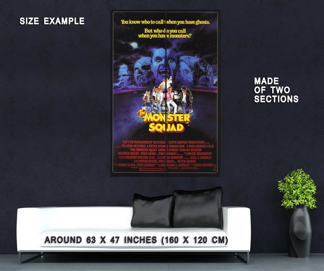 72324-The-Monster-Squad-1987-Fantasy-Action-Classic-Wall-Print-Poster-Affiche