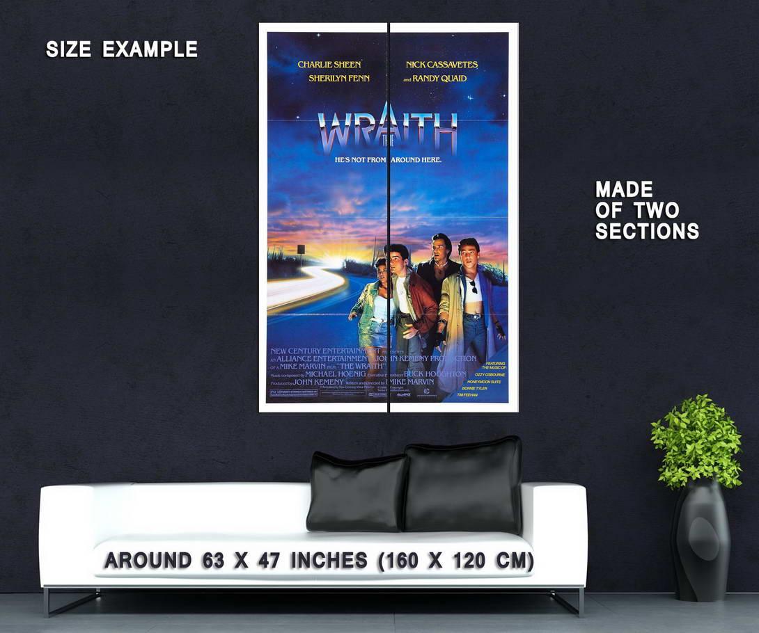 72477-WRAITH-Movie-RARE-Horror-Sci-Fi-Wall-Print-Poster-Affiche