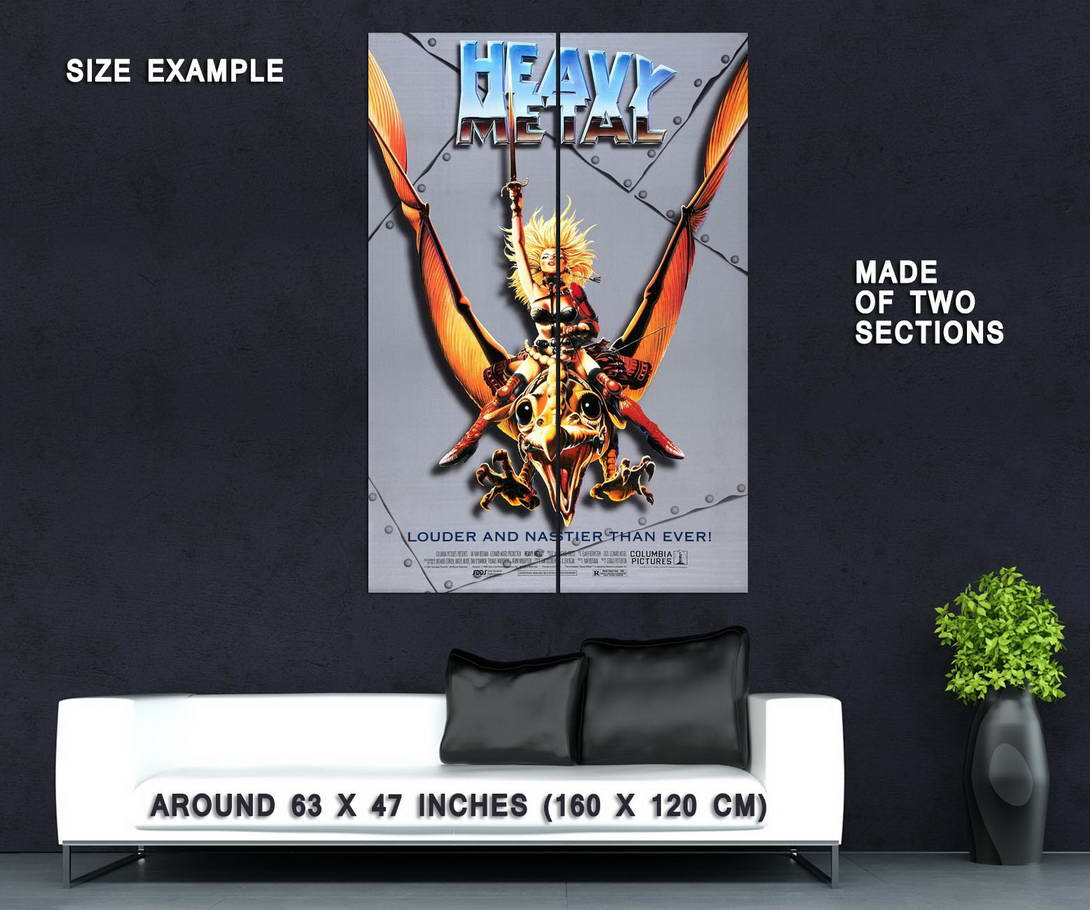 72491-HEAVY-METAL-Movie-Anime-Sex-Fantasy-Wall-Print-Poster-Affiche