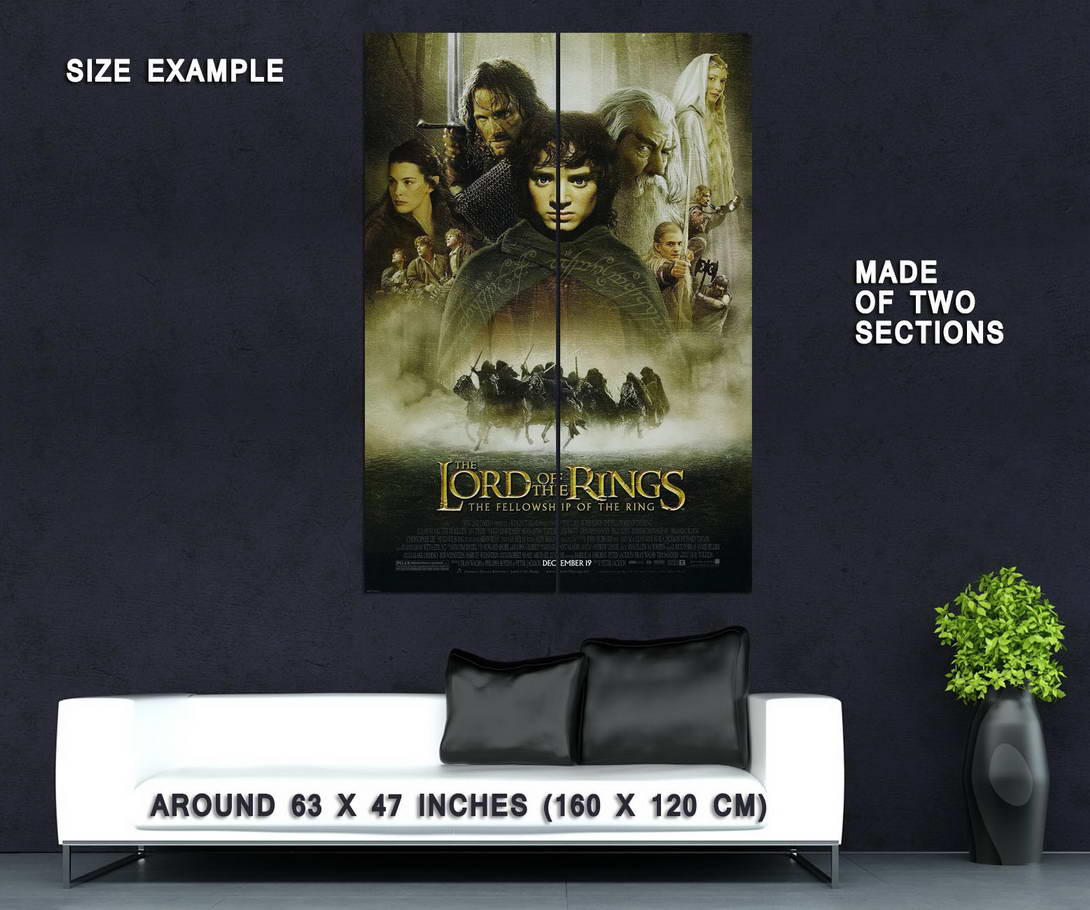 72540-THE-LORD-OF-THE-RINGS-Fellowship-of-te-Ring-RARE-Wall-Print-Poster-Affiche