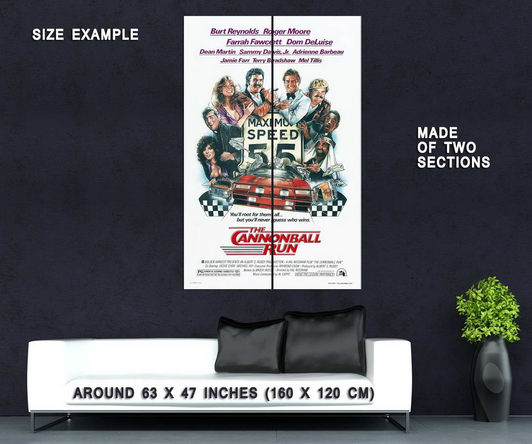 72543-CANNONBALL-RUN-Movie-Wall-Print-Poster-Affiche