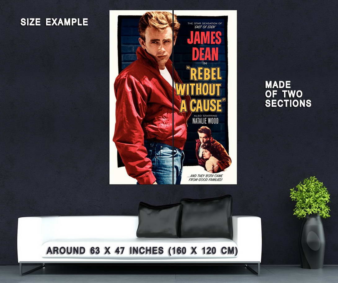 72648-James-Dean-in-Rebel-Without-a-Cause-Teen-Classic-Wall-Print-Poster-Affiche