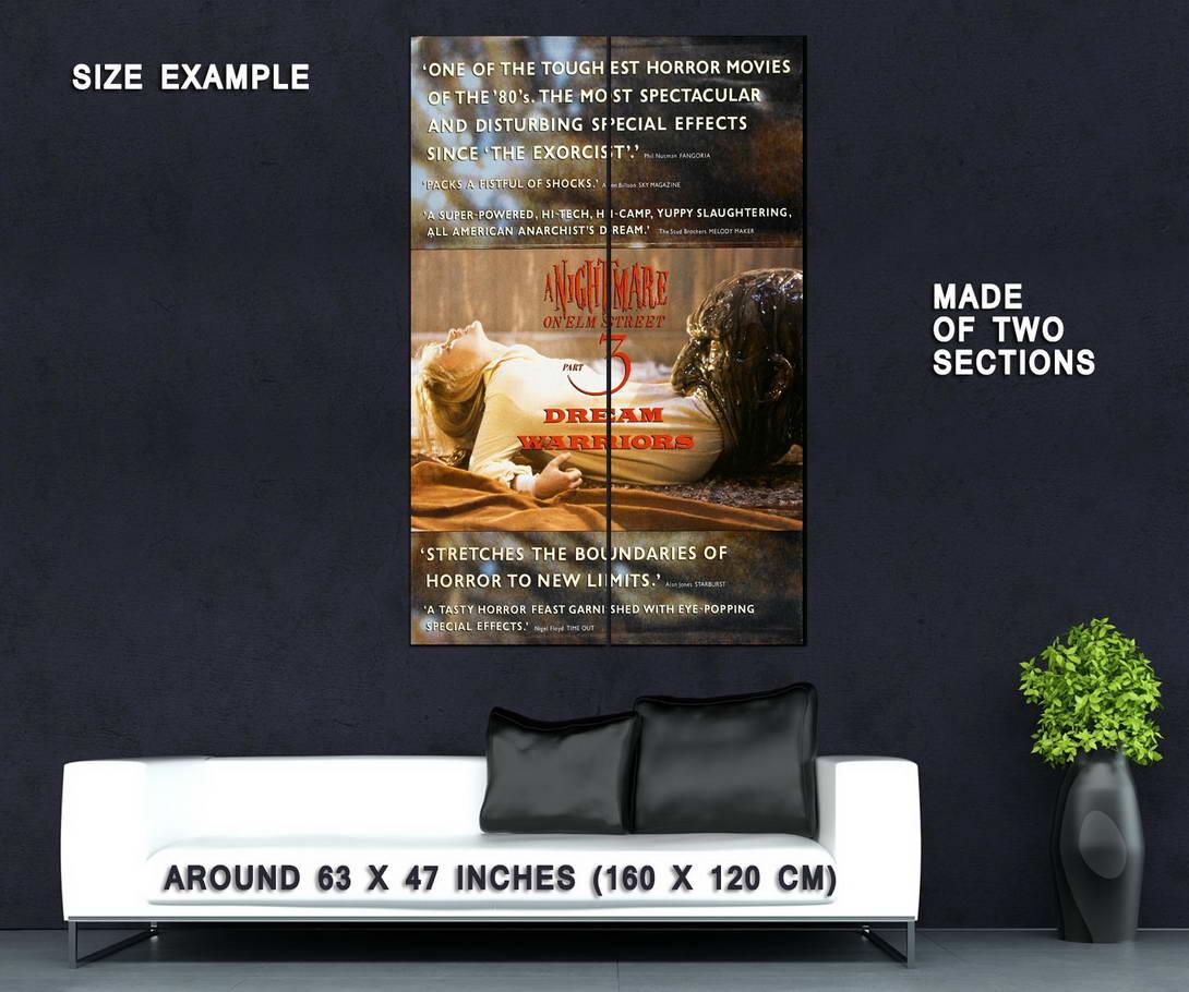 72649-A-NIGHTMARE-ON-ELM-STREET-3-DREAM-WARRIORS-Wall-Print-Poster-Affiche