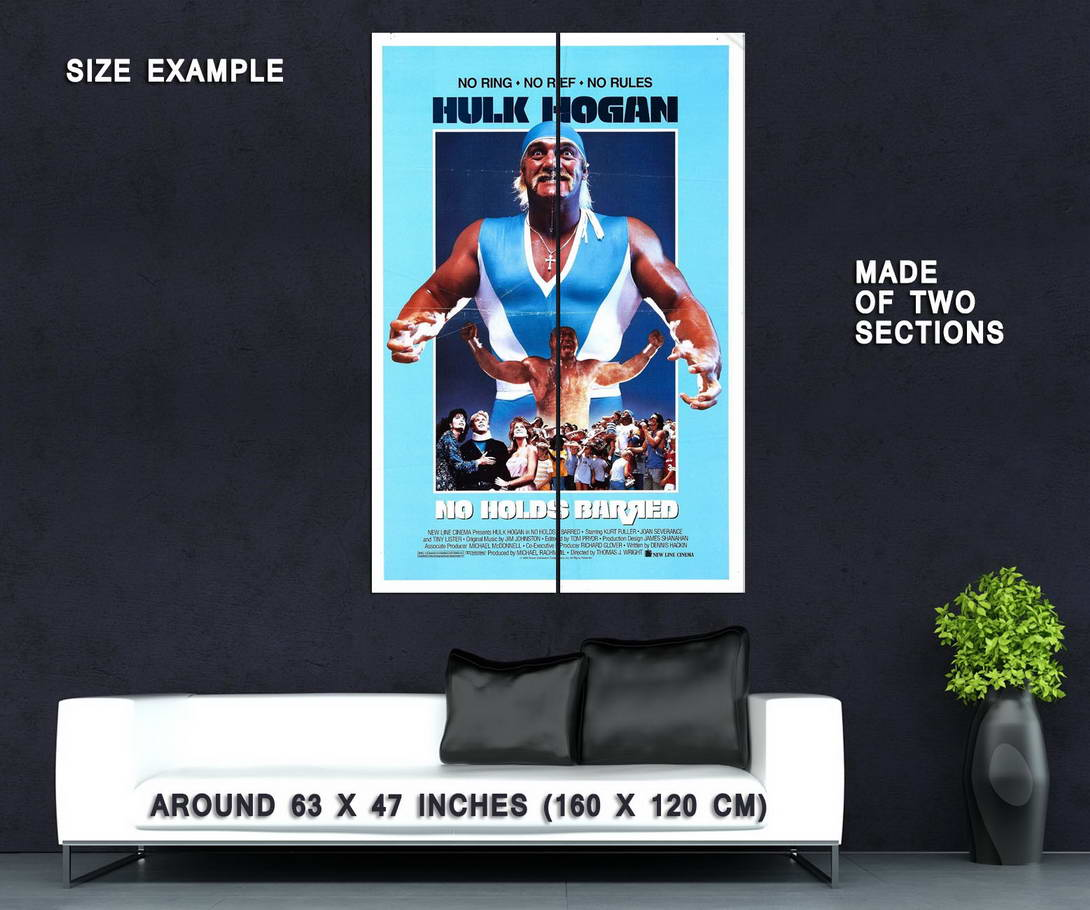 72686-No-Holds-Barred-Movie-1989-Action-Wall-Print-Poster-Affiche
