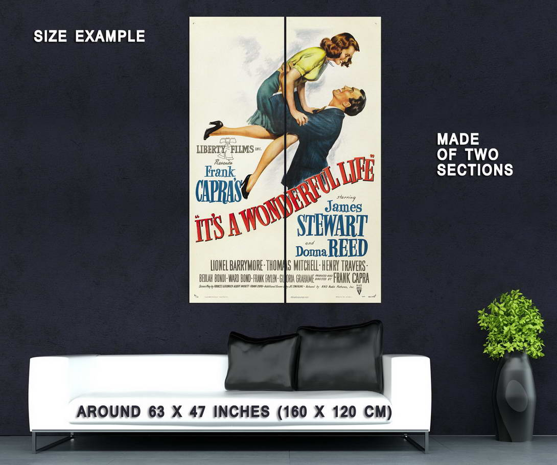 72687-IT-039-S-A-WONDERFUL-LIFE-1942-Jimmy-Stew-Christmas-Wall-Print-Poster-Affiche