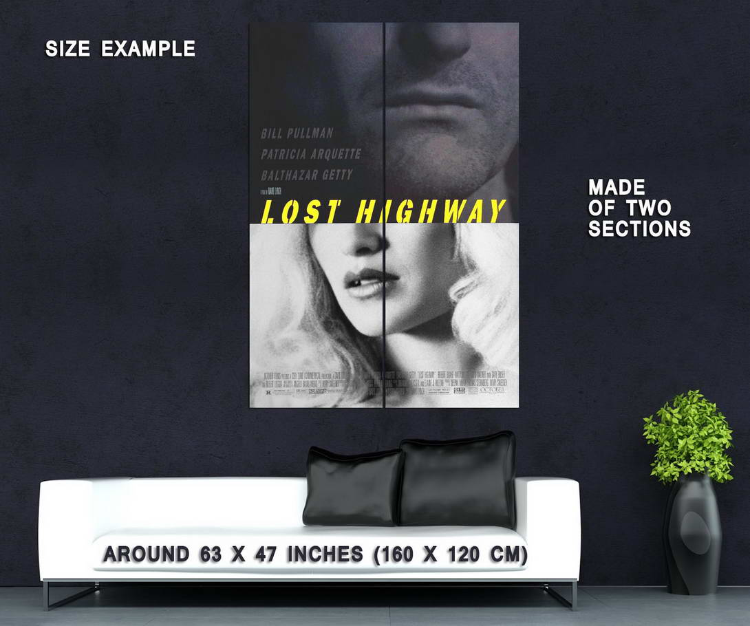 72728-LOST-HIGHWAY-Movie-David-Lynch-Twin-Peaks-Wall-Print-Poster-Affiche