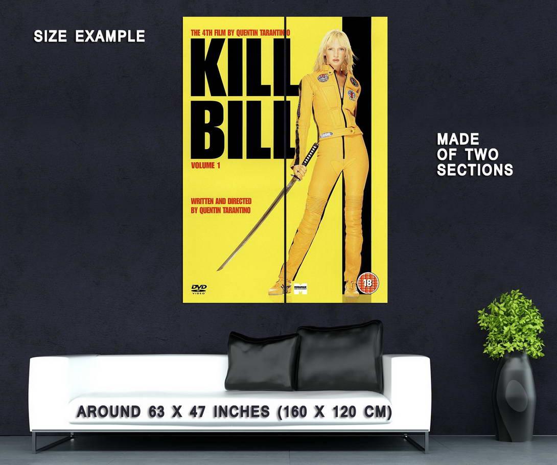 72735-KILL-BILL-VOL-1-Movie-Quentin-Tarantino-Kung-Fu-Wall-Print-Poster-Affiche